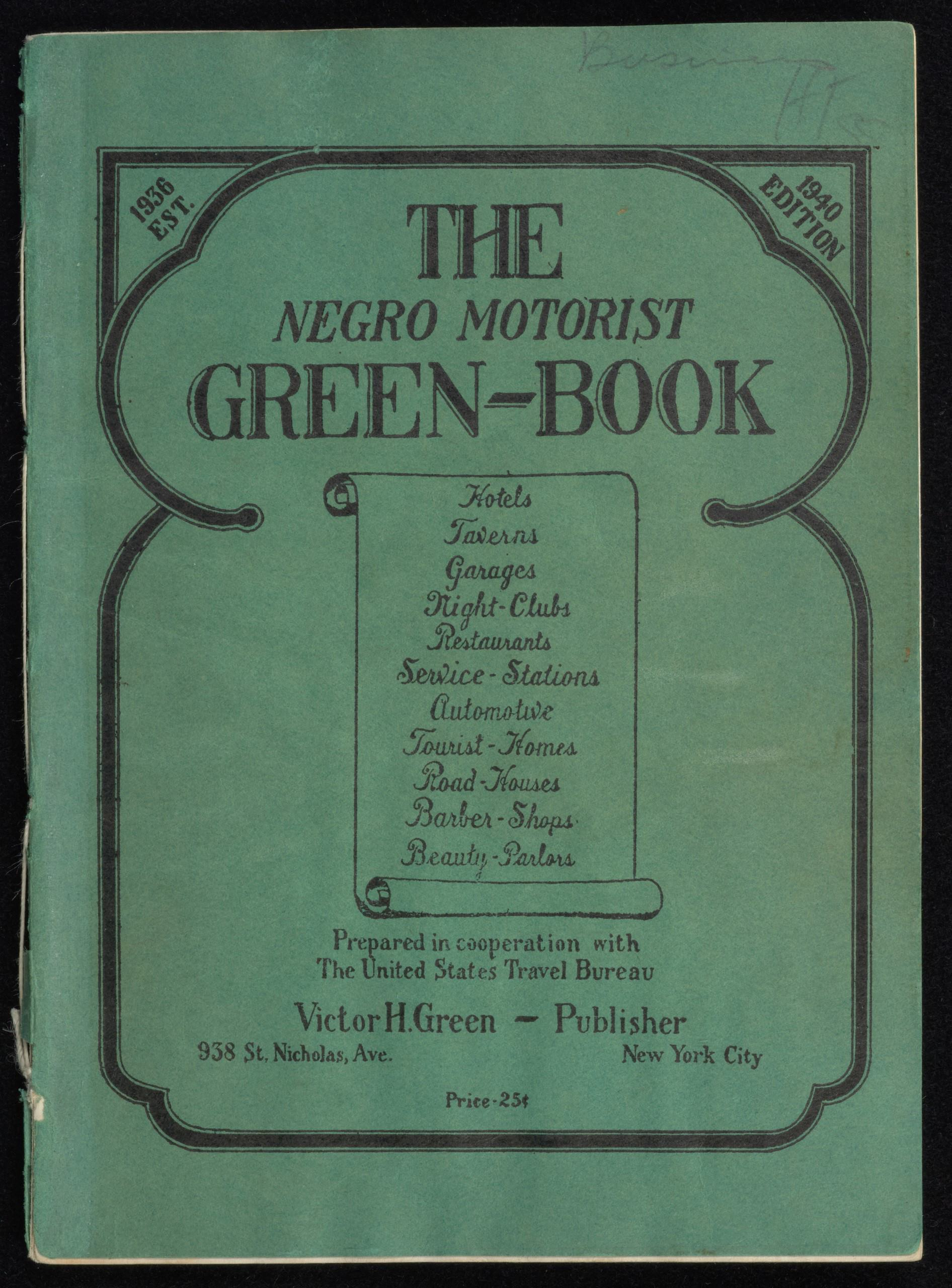 GreenbookCover